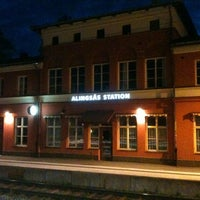 Photo taken at Alingsås Station by Thomas H. on 7/5/2012