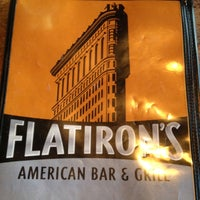 Photo taken at Flatiron's American Bar & Grill by Ed B. on 11/14/2011