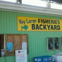 Photo taken at Key Largo Fisheries by Ruben on 9/21/2011