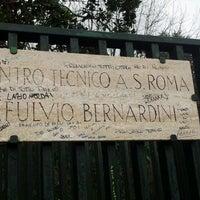 Photo taken at A.S. Roma - Centro Sportivo Fulvio Bernardini by RAFFAPAZ on 12/9/2011