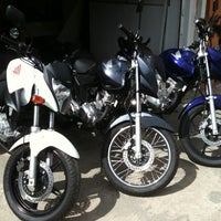 Photo taken at Alto Do Bode Motorcycle Store by Adriano M. on 1/28/2012