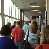 Photo taken at Gate B3 by Stephanie D. on 8/10/2012