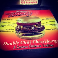 Photo taken at Original Tommy's Hamburgers by tiffany s. on 4/13/2012