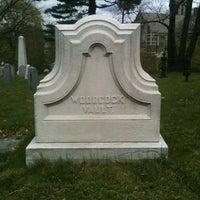 Photo taken at Trinity Church Cemetery & Mausoleum by Tim R. on 4/11/2012