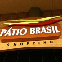 Photo taken at Pátio Brasil Shopping by Aurelio on 7/28/2012