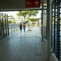 Photo taken at Transmetro Estación Atlántico by Robert O. on 10/23/2011