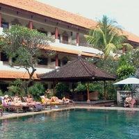 Photo taken at Bakung Sari Hotel by Jasper (. on 6/10/2012