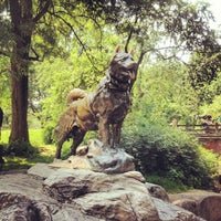 Photo taken at Balto Statue by Greg B. on 5/28/2012