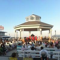Photo taken at Rehoboth Beach Bandstand by Gar G. on 6/23/2012
