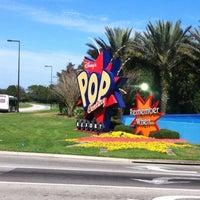 Photo taken at Disney's Pop Century Resort by @M@ND@ on 2/9/2012