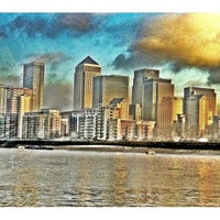 Photo taken at Canary Wharf Pier by Dirk S. on 11/25/2011