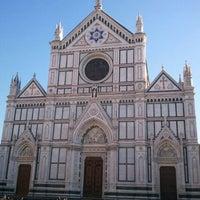 Photo taken at Basilica of Santa Croce by shimerson on 1/1/2012