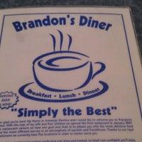 Photo taken at Brandon's Diner by Jennie W. on 8/29/2011