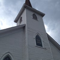 Photo taken at Tinley Park Historical Church by Cyndi on 7/14/2012