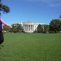 Photo taken at The White House Southeast Gate by Christine A. on 10/16/2011