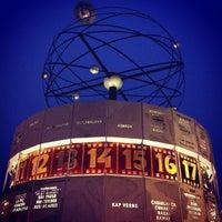 11/18/2011 tarihinde Marc D.ziyaretçi tarafından Weltzeituhr'de çekilen fotoğraf