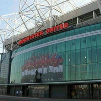 Photo taken at Manchester United Red Café by P e. on 2/23/2012