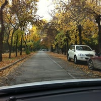 Photo taken at Парк Победы (на ул. им. Чуйкова) by Olga M. on 10/15/2011