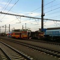 Photo taken at Železniční stanice Praha-Libeň by Martin C. on 8/24/2011