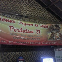 Photo taken at Kedai Ayam & Ikan Perdatam 37 by Ferdinand G. on 10/3/2011