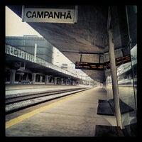 Photo taken at Estação Ferroviária de Porto-Campanhã by Joaquim Pedro S. on 4/20/2012