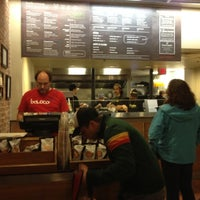 Photo taken at Boloco by Tom O. on 4/14/2012