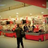 Photo taken at Rimi Hypermarket by Vytautas J. on 10/11/2011
