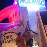 Photo taken at Café Mambo by an a. on 8/7/2012
