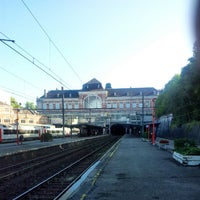 Photo taken at Gare de Verviers-Central by Musa P. on 9/1/2012