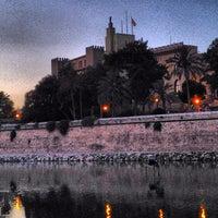Photo taken at Palacio Real de La Almudaina by Maria Rosaria S. on 8/4/2012