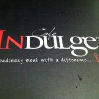 Photo taken at Cafe Indulge by Ryan T. on 5/5/2012