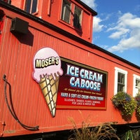 Photo taken at Moser's Ice Cream Caboose by Heather W. on 9/17/2011