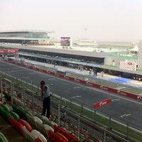 Photo taken at Buddh International Circuit by Gautam K. on 10/28/2011