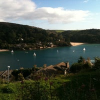 Photo taken at Salcombe Estuary by George B. on 10/8/2011