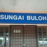 Photo taken at KTM Line - Sungai Buloh Station (KA08) by Hafiz R. on 12/4/2011