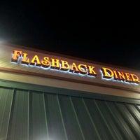 Photo taken at Flashback Diner & Coffeehouse by Natasha V. on 10/4/2011