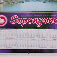 Photo taken at Soponyono snack by Hadi P. on 9/26/2011