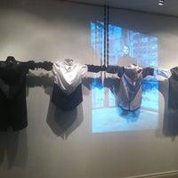 Photo taken at Boutique Denis Gagnon by Bureau de la mode de Montréal on 2/29/2012