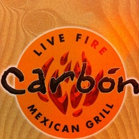Photo taken at Carbon Live Fire Mexican Grill by Mary Kay H. on 8/12/2012