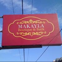 Photo taken at Makayla Boutique & Batik by dody d. on 5/25/2012