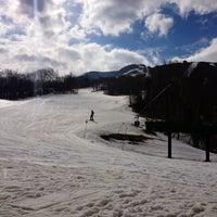 Photo taken at Cannon Mountain Ski Area by rachel b. on 3/14/2012