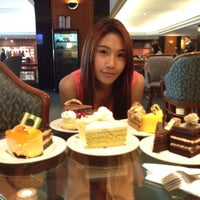Photo taken at Buffet Cake @ Novotel Lotus by Zeusmaii Z. on 5/9/2012