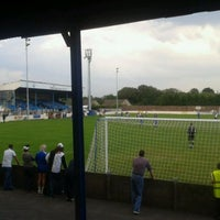 Photo taken at Silverlands (Buxton FC) by Phil H. on 8/3/2011