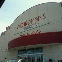 Photo taken at Woodman's Food Market by J-R on 7/18/2011