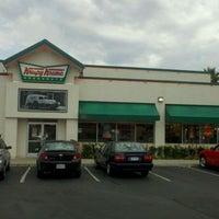 Photo taken at Krispy Kreme Doughnuts by Comic-Con G. on 9/5/2011