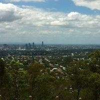 Photo taken at Mount Gravatt Lookout by Matthew M. on 1/3/2012