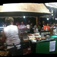 Photo taken at Fiestas de Les Corts by Jaime S. on 10/8/2011