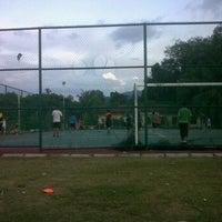 Photo taken at Gelanggang Futsal TDSI by Redh H. on 1/2/2012