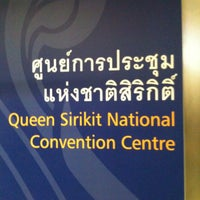 Photo taken at MRT Queen Sirikit National Convention Centre (SIR) by Manoj B. on 1/11/2012
