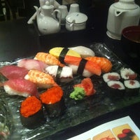 Photo taken at Midori Japanese Restaurant by Dhea A. on 2/25/2012